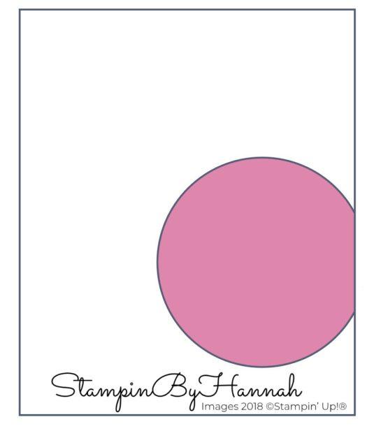 StampinByHannah Team Training Sketch Facebook Live Stampin' Up! UK