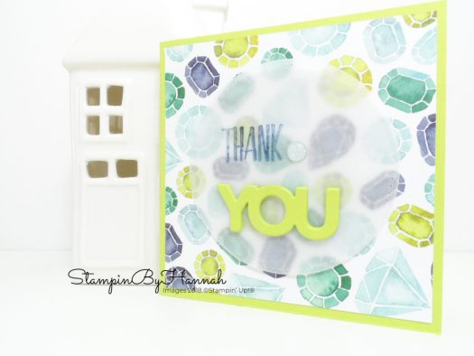 Card Making Techniques Video Tutorial how to layer die cuts using Celebrate You from Stampin' Up! Sale-a-bration