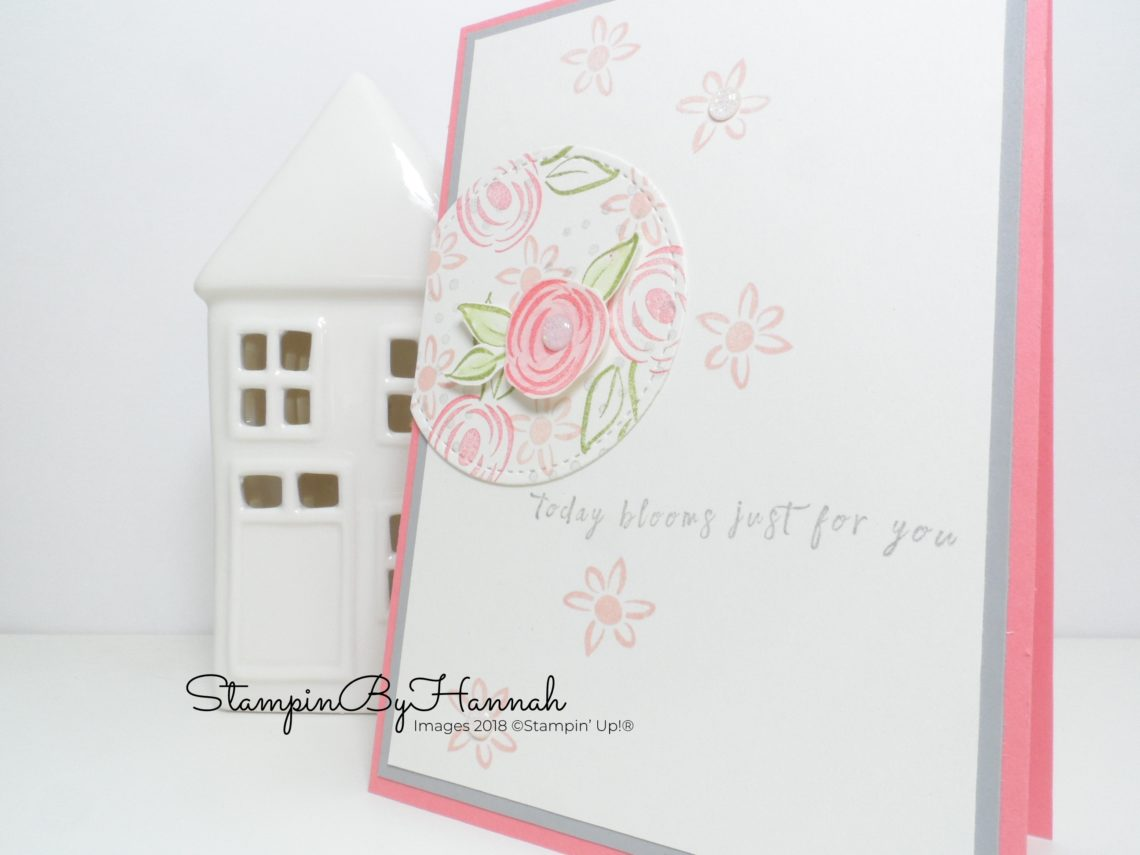 Soft and pretty Perennial Birthday Card using Stampin' Up! products