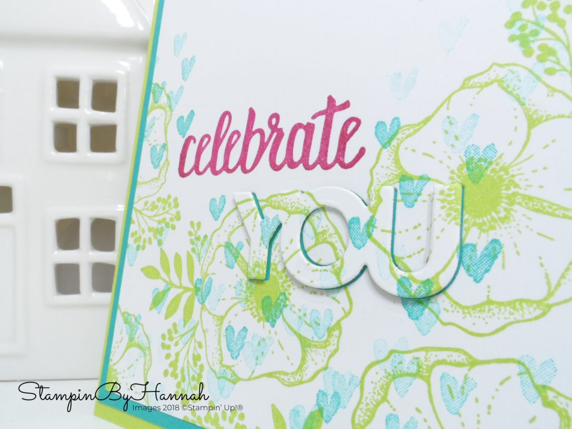 How to make a fun eclipse card using Amazing You from Stampin' Up! Sale-a-bration