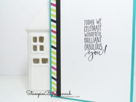 Picture Perfect Birthday Card using Stampin' Up! products