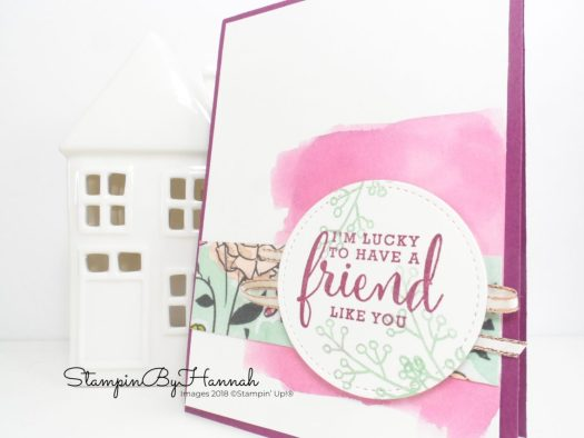 Stampin' Up! Share What You Love Suite Love What You Do Video Tutorial Make It Monday