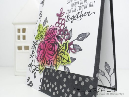 Step up this Petal Palette Congratulations card using Stampin' Up! goodies