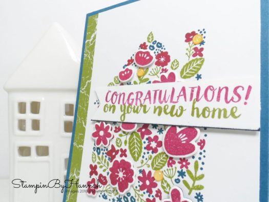 Fun New Home Card using Home life from Stampin' Up!