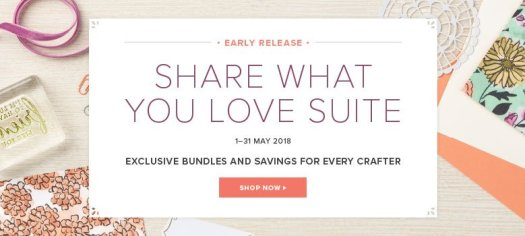 Stampin' Up! Share What You Love Bundles