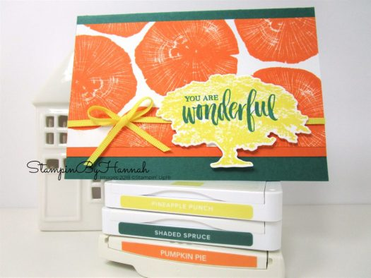 Pineapple Punch meets Rooted in Nature from Stampin' Up!