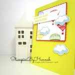 How to make a bright and fun congratulations card with a hot air balloon using Lift Me Up from Stampin' Up!