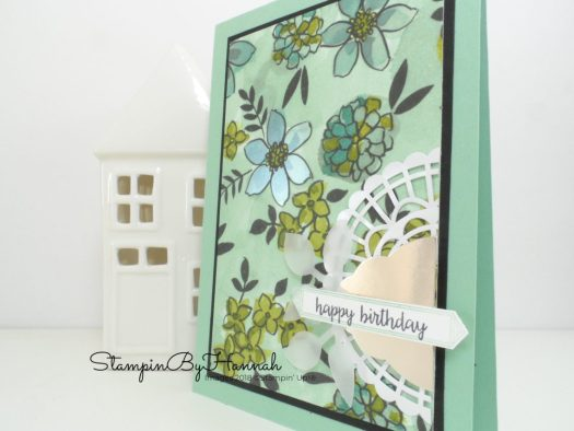Make It Monday Happy Birthday Gorgeous meets Share What You Love from Stampin' Up! Birthday Card Video Tutorial