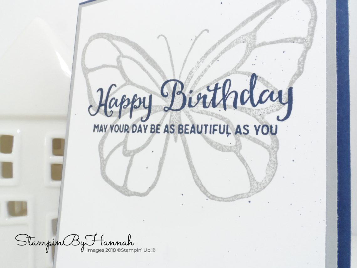 How to use the Stampartus to make a fabulous birthday card using Beautiful Day from Stampin' Up!
