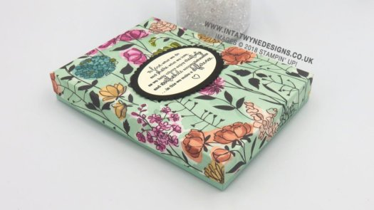 DIY Card Gift Box using Share What You Love from Stampin' Up! with Intatwyne Designs