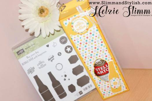 Slimm and Stylish Large Gift Box using Bubbles and Fizz from Stampin' Up!
