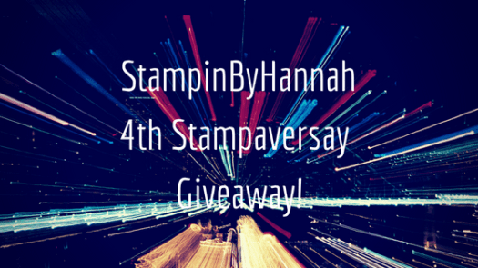 StampinByHannah Stampaversary Giveawy Stampin' Up!