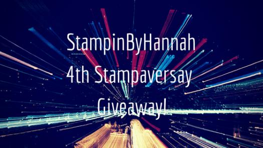 StampinByHannah Stampaversary Giveawy Stampin' Up!