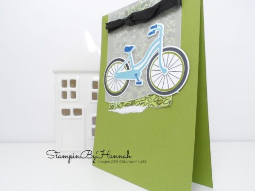 Fun Bicycle Card using Stampin' Up! products