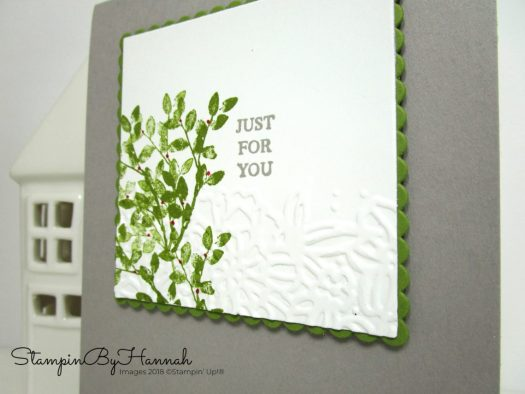 Global Design Project Case the Designer Just for You Natural Card using Rooted in Nature from Stampin' Up!