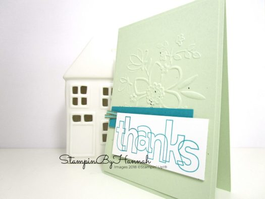 Make It Monday How to Use Alphabet Stamps Video Tutorial using Stampin' Up! products