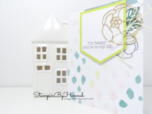 Quick and easy watercolour cards using the Soft Sayings Card Kit from Stampin' Up!