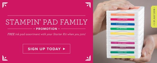 How to get free ink pads with Stampin' Up!