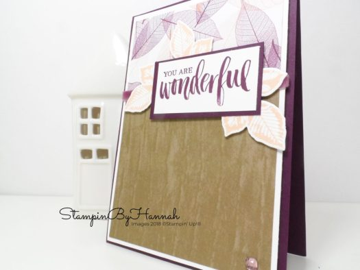 3 fun card making ideas using patterned paper from Stampin' Up!