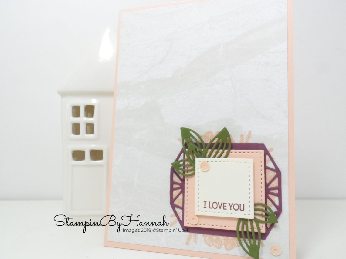 Make It Monday how to make a tag using Beautiful Promenade from Stampin' Up!