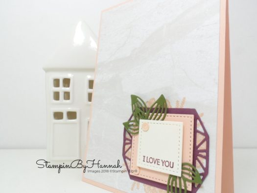 Make It Monday with Petal Promenade from Stampin' Up! Pretty Valentines Card