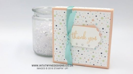 Fun box using Designer Series Paper by Intatwyne Designs using Stampin' Up! Patterned Paper