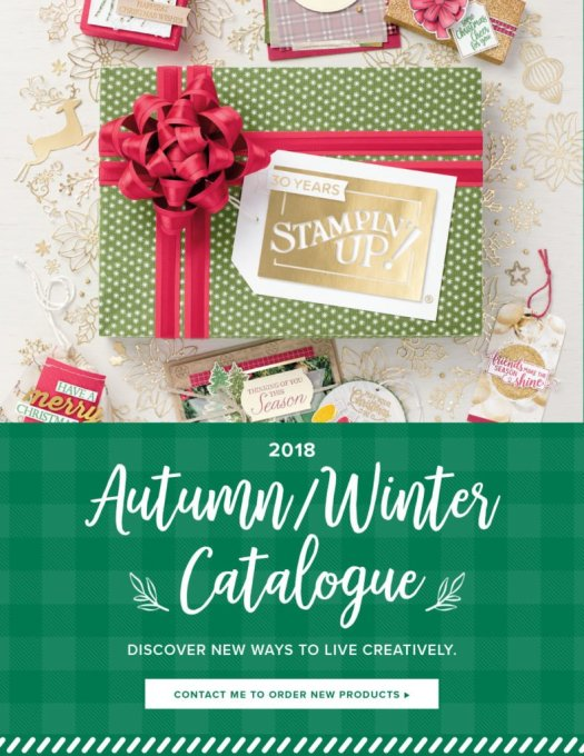 Stampin' Up! Autumn Winter Catalogue Get your FREE Copy