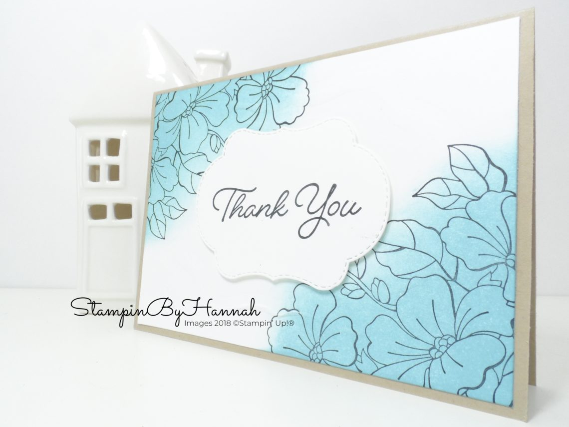 How to do ink blending with Stampin' Up! Inks