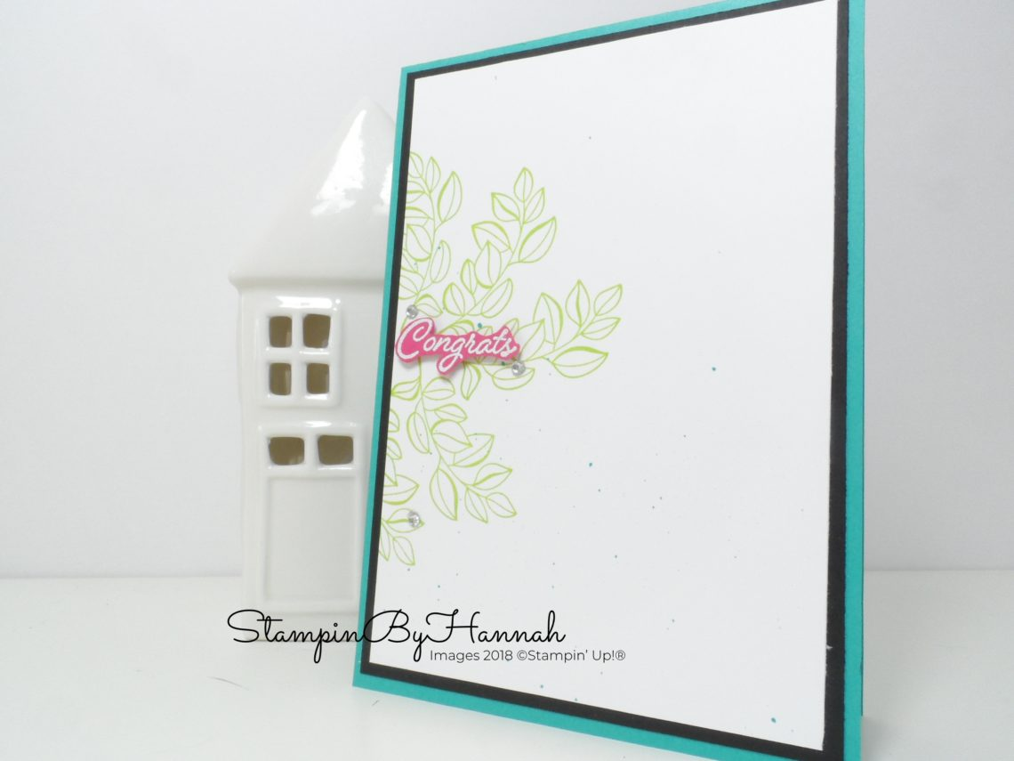 Inspire.Create.Challenge Blended Seasons Congratulations Card