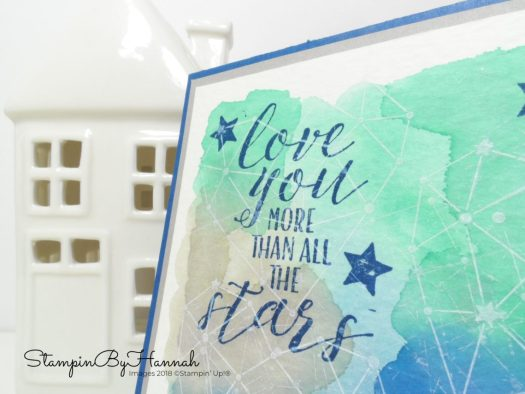 Masculine Valentines Card using Little Twinkle from Stampin' Up!