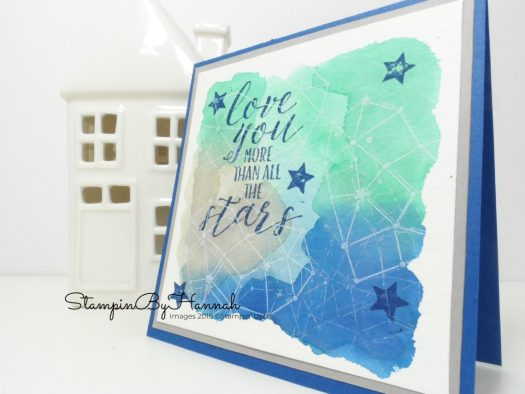 Make It Monday Watercolour Background Video Tutorial Using Stampin' Up! Products
