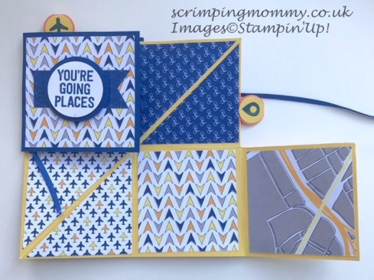 Great Guy Squash Book using Best Route from Stampin' Up! with Amanda Charlesworth