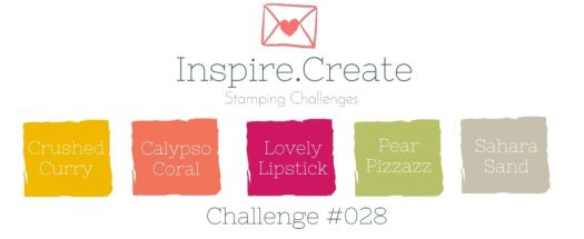 Inspire.Create.Challenge 028 Stampin' Up! Colour Combination