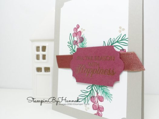 Get the Stampin' Up! Autumn Winter 2018 Catalogue