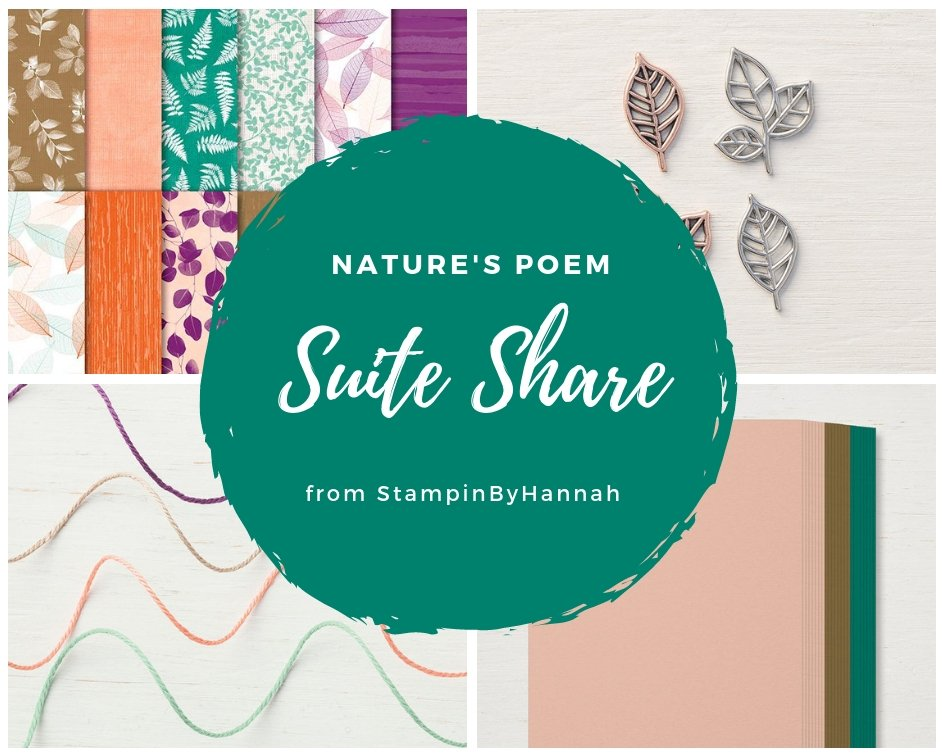 StampinByHannah October Suite Share Natures Poem