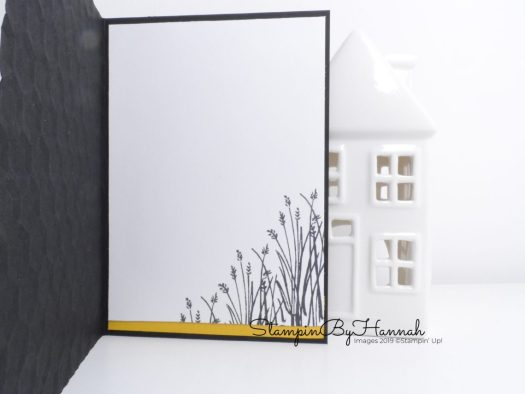 How to decorate the inside of a card using Home to Roost from Stampin' Up! with StampinByHannah