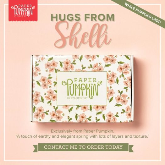 How to get your Hugs from Shelli Paper Pumpkin Kit in the UK