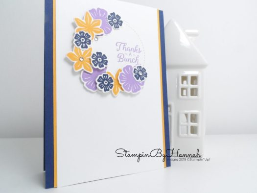 InspireINK blog hop 3 ways with Beautiful Bouquet from Stampin' Up! with StampinByHannah