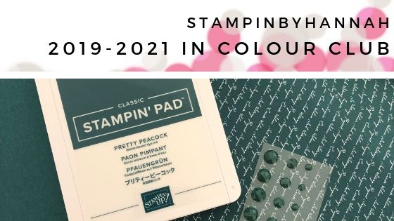 Stampin' Up! In Colour Club 2019-2021 with StampinByHannah