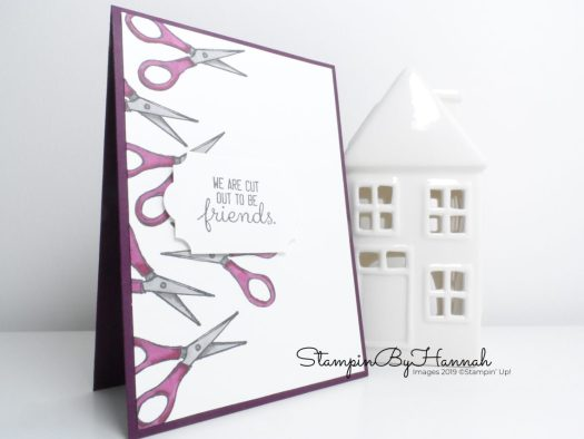Fun Crafting card using Crafting Forever from Stampin' Up! and Stampin' Blends with StampinByHannah
