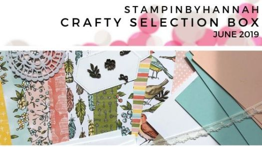 StampinByHannah Crafty Selection Box June 2019