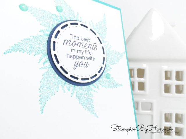 Daisy Lane Thinking of You card using Stampin' Up! products with StampinByHannah