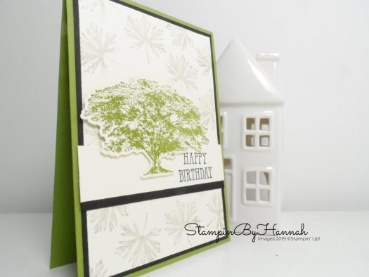 Happy Birthday with Rooted in Nature from Stampin' Up! with StampinByHannah