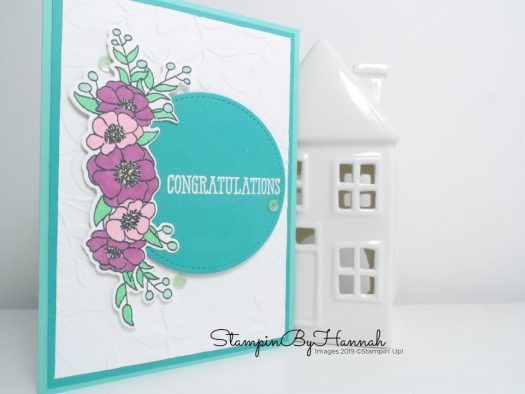 Congratulations with Bloom and Grow from Stampin' Up! with StampinByHannah