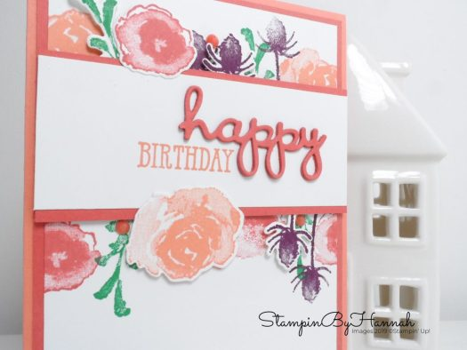 First Frost Birthday Card using Well Said and Well Written from Stampin' Up! with StampinByHannah