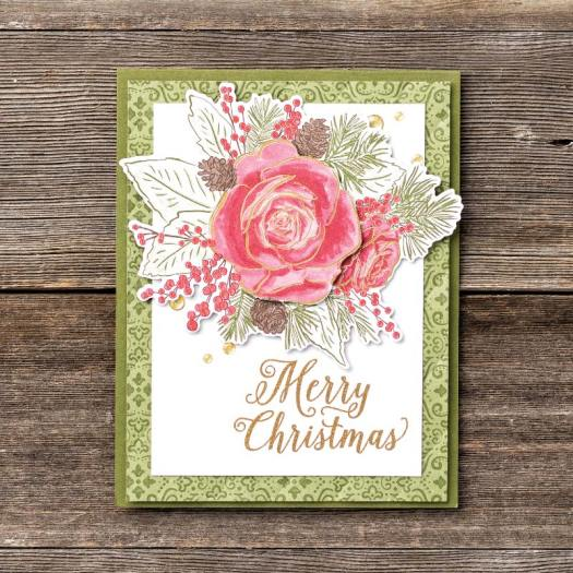 Merry Christmas with Christmastime is Here from Stampin' Up! and StampinByHannah