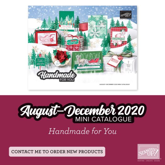 Stampin' Up! August-December Mini Catalogue 2020