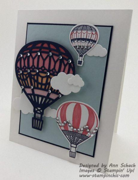 Hot Air Balloon Lift Me Up card