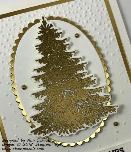 easy elegant Christmas card