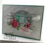 dainty feminine card